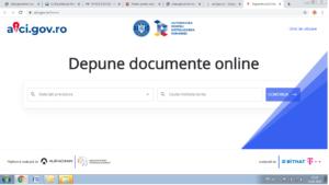 Inregistrarea documentelor adresate institutiilor publice se poate face online. Autoritatea pentru Digitalizarea Romaniei lansează azi platforma aici.gov.ro